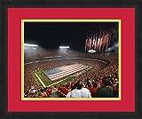"NFL Kansas City Chiefs Arrowhead Stadium, Beautifully Framed and Double Matted, 18"" x 22"" Sports Photograph"