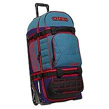 OGIO Rig 9800 Tealio Wheeled Gear Bag Teal/Red/Black