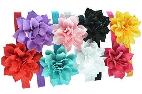 Qandsweet Baby Girls Headbands Accessories