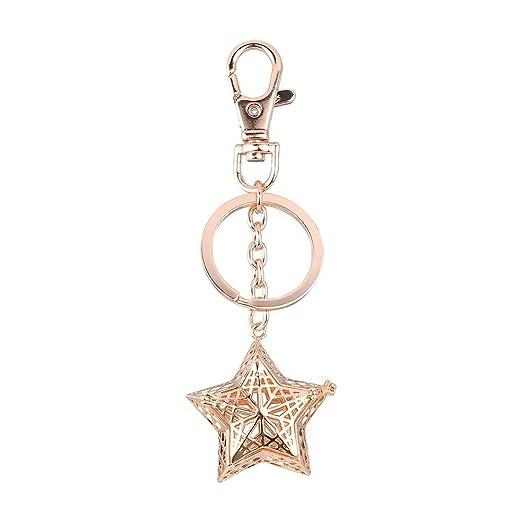 Doitsa 1 x Llavero Colgante de Forma de Creux Pentagrama ...