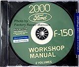 2000 Ford F-150 Workshop, Repair & Service Manual For Pickup Truck Lariat Lighting XL XLT