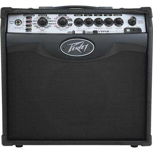 Peavey Vypyr VIP 1 20W RMS Modeling Guitar Amplifier Gator Cases Frameworks Combo Amp Stand