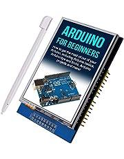 """Kuman UNO R3 2.8 Pulgadas TFT de Pantalla Táctil con Conector de Tarjeta SD para Arduino Nano Mega2560 320x240 2.8""""LCD K60"""
