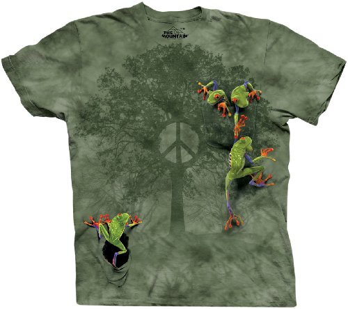 the-mountain-mens-peace-tree-frog-short-sleeve-t-shirtgreenx-large