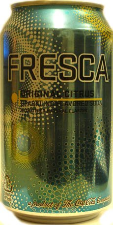 Fresca Original Citrus Soda 12oz Cans (Pack of 12)