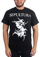 Sepultura - Mens Tribal Logo T-Shirt In Black