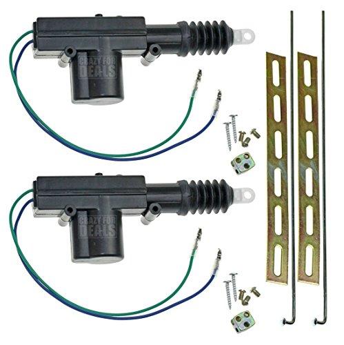 CfD¨ Universal Car Power Door Lock Actuator 12-Volt Motor (2 Pack)
