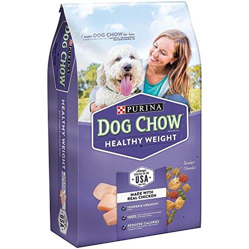 Purina Dog Chow Light & Healthy Adult Dog Food 4 lb. Bag, Light in Calories, Big on Taste
