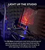 MXL 990 Blaze Condenser Microphone with Red LED