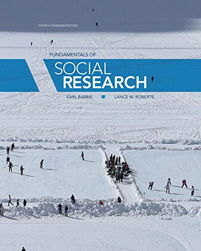 Fundamentals Of Social Research Earl Babbie Lance W