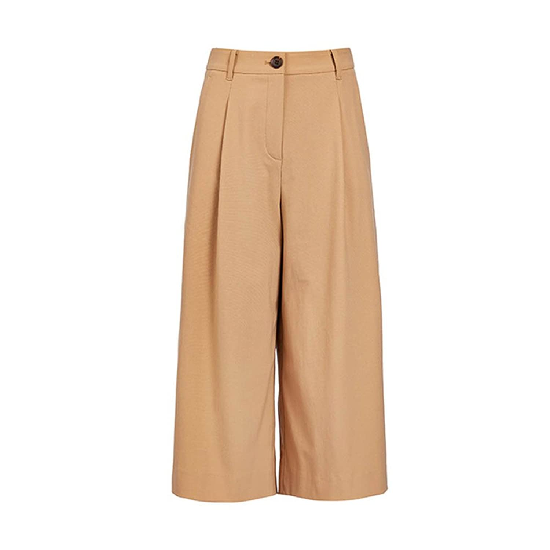 Navaque Womens Spring Fashion High Waist Loose Tow-Quarter Pants