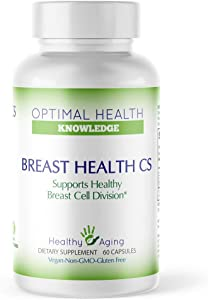Breast Health CS for Healthy Breast Cell Division - Indole-3-carbinol, DIM, and Iodine Supplement - 60 Count