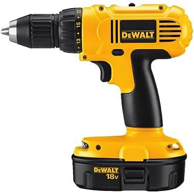 DEWALT DC759KA 18-Volt NiCad 1/2-Inch Cordless Drill/Driver Kit