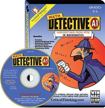 Math Detective Software A1 Cd Gr5-6 by Critical Thinking Co.
