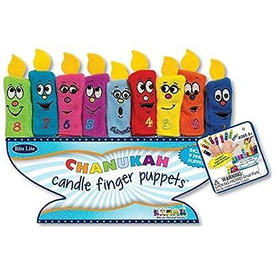 Rite Lite, Finger Puppet Chanukahs Menorah: Toys & Games