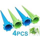 Sonline 4 x Annaffiatoio Giardino Spikes Pianta Waterers per vacanza bottiglia sistema di irrigazione