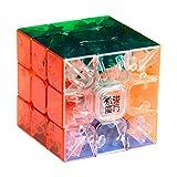 MoYu 3x3 1 X 3x3x3 YJ Yulong Stickerless Cube Puzzle, Transparent