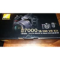 Nikon D7000 16.2MP DX-Format CMOS Digital SLR with 18-140mm f/3.5-5.6G ED VR AF-S DX NIKKOR Zoom Lens