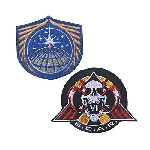 Call of Duty Infinite Warfare United Nations Space Alliance UNSA Badge Velcro Patch By Ewkft (C(TOTAL