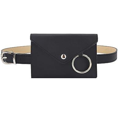Fashion Men Women Outdoor Stretch Outdoor Sport Belt Pockets Mobile Phone Bag UK