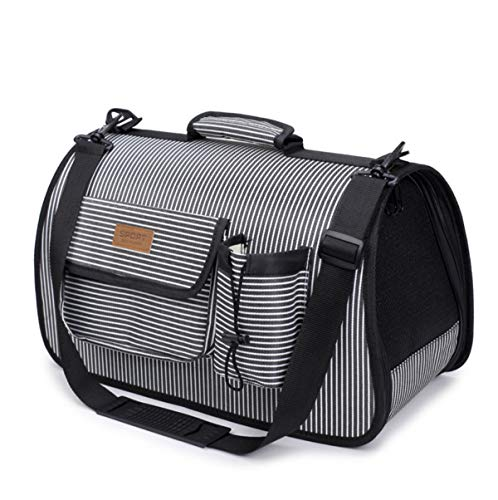 ALLNEO Premium Airline Approved Soft-Sided Pet Travel Carrier Pet Carrier for Dogs & Cats Portable Soft-Sided Air Travel Bag – Best for Small or Medium Dog and Cat