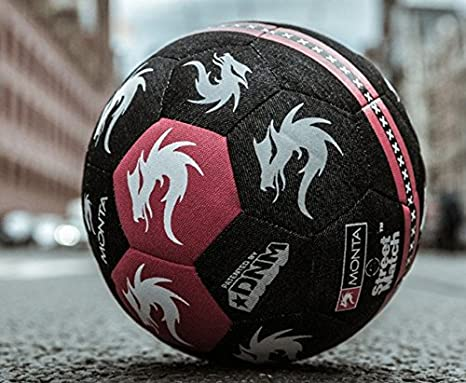 Monta balón Ámsterdam Damsco StreetMatch: Amazon.es: Deportes y ...
