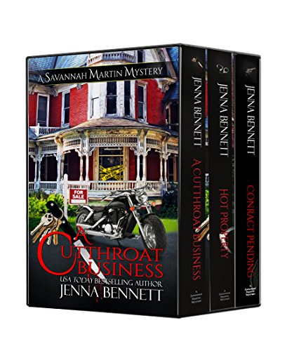 Savannah Martin Mysteries Box Set 1-3: A Cutthroat Business, Hot Property, Contract Pending (Savannah Martin Mysteries Boxset) by [Bennett, Jenna]