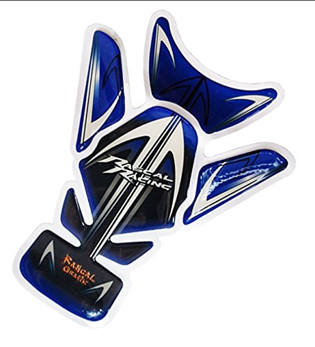 Motorcycle Tank Pad Racing Sports Logo Gas Protector Decal Sticker Accessories Blue Fore For 2003 2004 2005 2006 Honda CBR600RR
