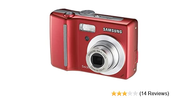 amazon com samsung digimax s630 6mp digital camera with 3x optical rh amazon com Samsung S630 USB Cable Samsung S850