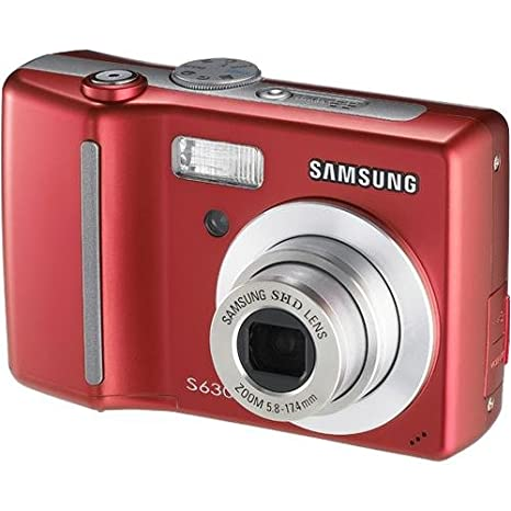 amazon com samsung digimax s630 6mp digital camera with 3x optical rh amazon com Samsung S850 Samsung S850