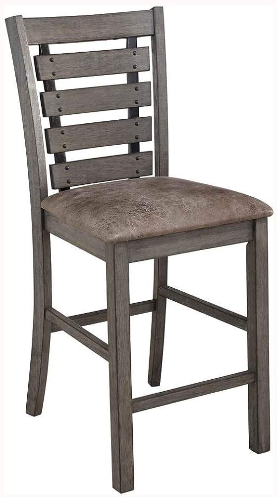Progressive Furniture Counter Stool in Harbor Gray - Set of 2