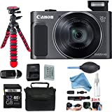 Canon PowerShot SX620 HS Digital Camera (Black) + DigitalAndMore Deluxe Accessories Bundle.