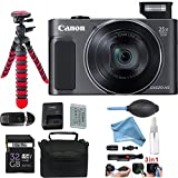 Canon PowerShot SX620 HS Digital Camera (Black) + DigitalAndMore Deluxe Accessories Bundle.