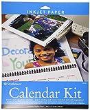 """Strathmore 59-686 Inkjet Photo Calendar Kit, 8.5""""x11"""""""
