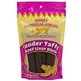 Jones Beef Liver Blend Tender Taffy (2 of 8 oz Packs) Dog Snack …