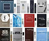 Lot of 12 Vial Samples - Men's Fragrance Cologne Sampler