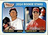 2014 Topps Heritage #107 Ethan Martin RC / Cameron Rupp RC - Philadelphia Phillies (RC - Rookie Card)(Baseball Cards)
