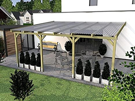 Giardino Dinverno Terrazza : Prikker Überdachungen copertura per terrazza borkum giardino d