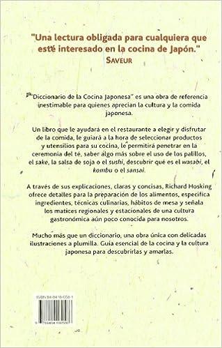 Diccionario de La Cocina Japonesa - Ingredientes (Spanish Edition): Richard Hosking: 9788484180586: Amazon.com: Books