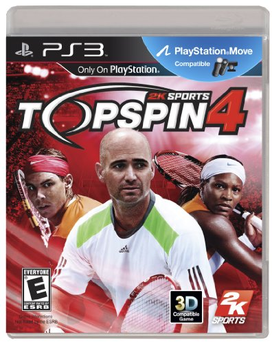 Top Spin 4 - Playstation 3 (Top Best Xbox 360 Games)