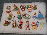 Disney Christmas Ornaments Set 1991 - 2007 Excluding 2004