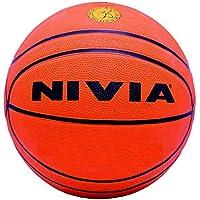 Nivia Europa Basket Ball,Size: 7,(Color May Vary)