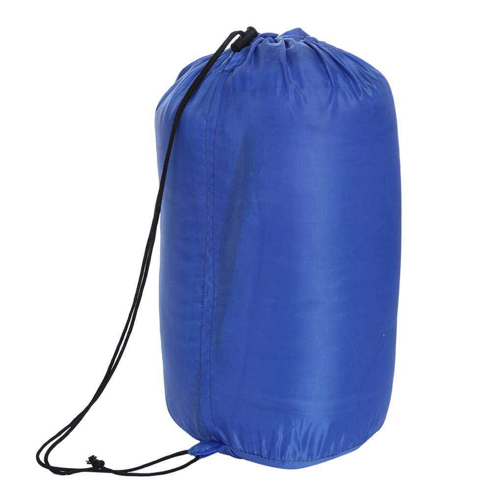 Besde Sport Sleeping Bag, Lightweight Portable, Waterproof, Comfort with Compression Sack - Great for Traveling, Camping, Outdoor Activities (Blue) by Besde Sport (Image #7)