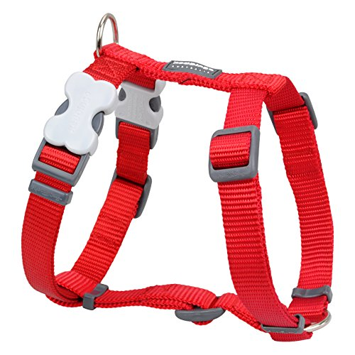 Red Dingo Classic Dog Harness, Large, Red