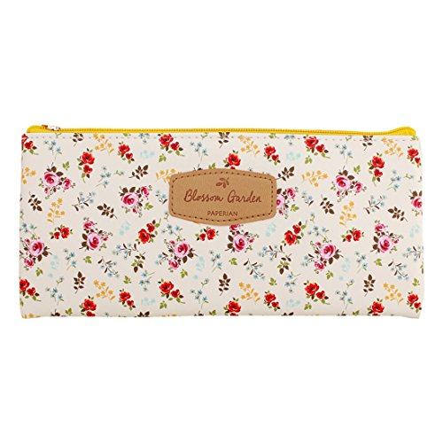 PAPERIAN Blossom Garden Pen Case - Floral patterned Pencil Case, Pencil Holder (Bouquets)