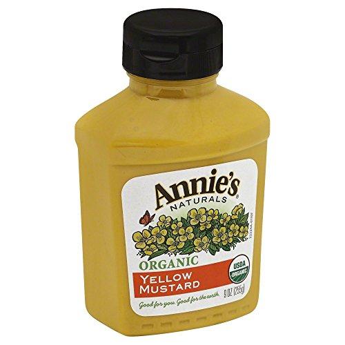 Annies Organic Yellow Mustard, 9 Ounce – 12 per case.