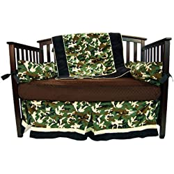 Camo Crib Bedding Set For A Boy