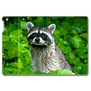 Baby Raccoon 010 Leather Cover for iPad Mini by ruishername