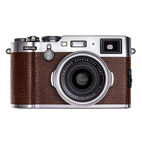 Fujifilm X100F 24.3 MP APS-C Digital Camera (International Version) (Brown) For Sale