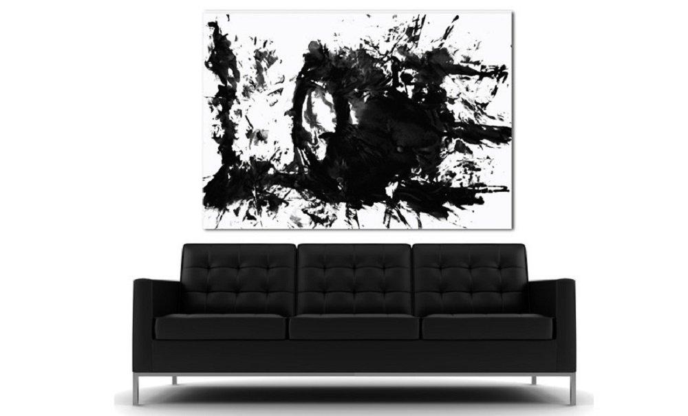 Love Is Art Paint & Canvas Kit (Black)